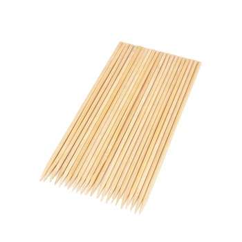 Vietnam bamboo skewer sticks for corndog maker chicken skewer gardening sticks for plants and kebab skewers