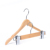 Wholesale Personalized Natural wooden coat hanger with pants hanger set for shop
