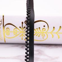 Винтажная кружевная лента с жемчужными бусинами, 1 ярд, кружевная лента, африканская кружевная ткань, воротник, платье, швейная одежда, голов...(Китай)