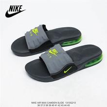 Оригинальная обувь Nike Asuna Slide из мягкой кожи; Повседневная пляжная обувь; Мужские тапочки; Размеры 40-45()