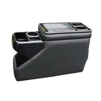 Multifunction car armrest console box for van