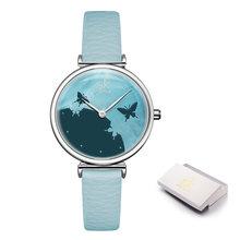 Shengke SK женские часы романтический Сельский циферблат кожаный ремешок для часов женские часы повседневные кварцевые наручные часы Montre Femme(Китай)