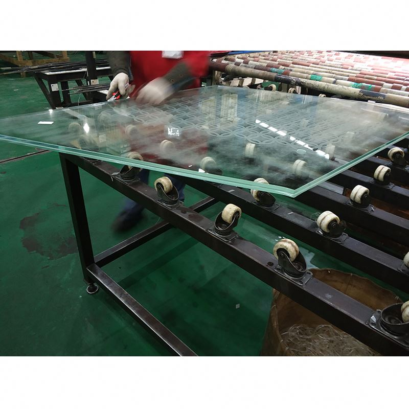 4mm digital printing on glass, tempered glass with pictures from factory