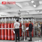 CO2 Gas Fire Suppression System Fire Extinguishing Control Systems With Accessories