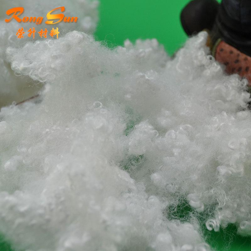 3A Grade 7D15D Hollow conjuageted polyester staple fiber price