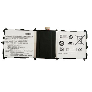 "7.6V 25wh original battery for Samsung Ativ Tab 3 10.1"" Series 1588-3366 AA-PLZN2TP battery for tablet replacement battery"