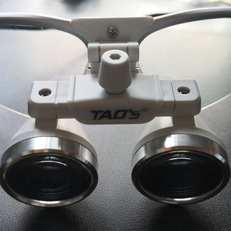 TAOS 3.0 X Galilean Flip up surgical dental loupes maginifiers