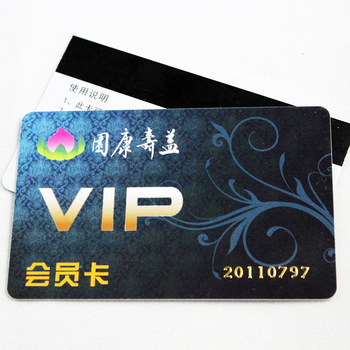 Disposable Embossing PVC Credit Card Size PVC Card