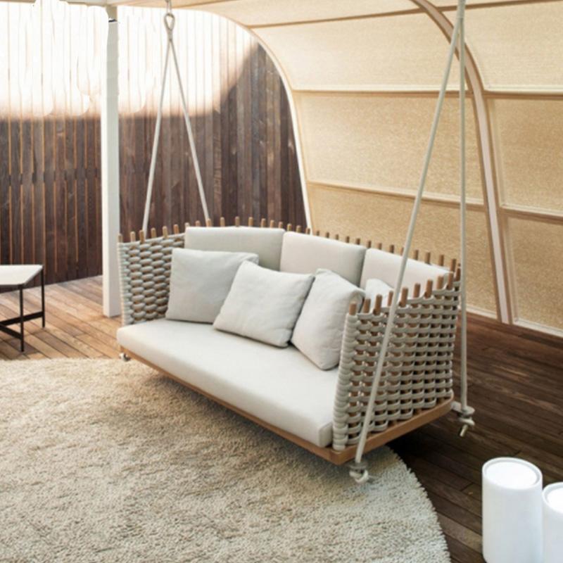 Уличная мебель нового дизайна, Набор садовых диванов и стульев, можно настраивать, набор диванов из ротанга