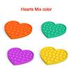 NO.4 heart random color
