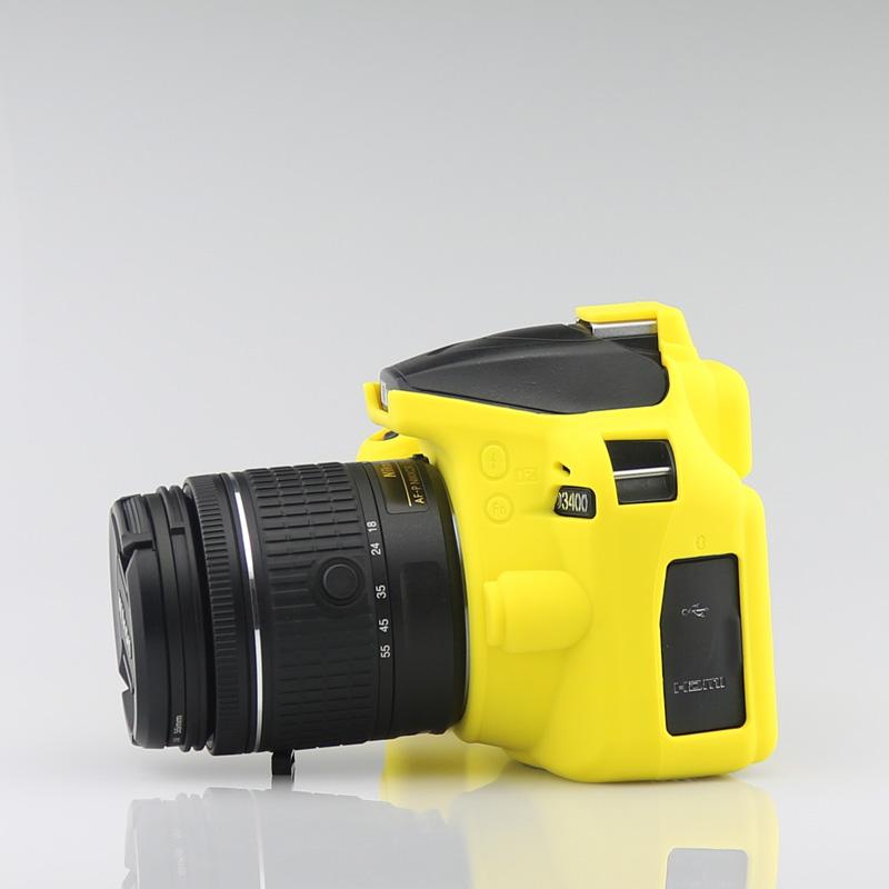 Для Canon Nikon DSLR камера защитный чехол силиконовый защитный чехол Крышка