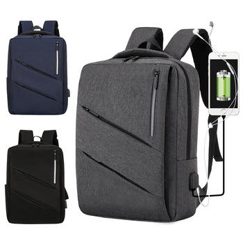 OMASKA High quality waterproof USB laptop sac a dos men business backpack