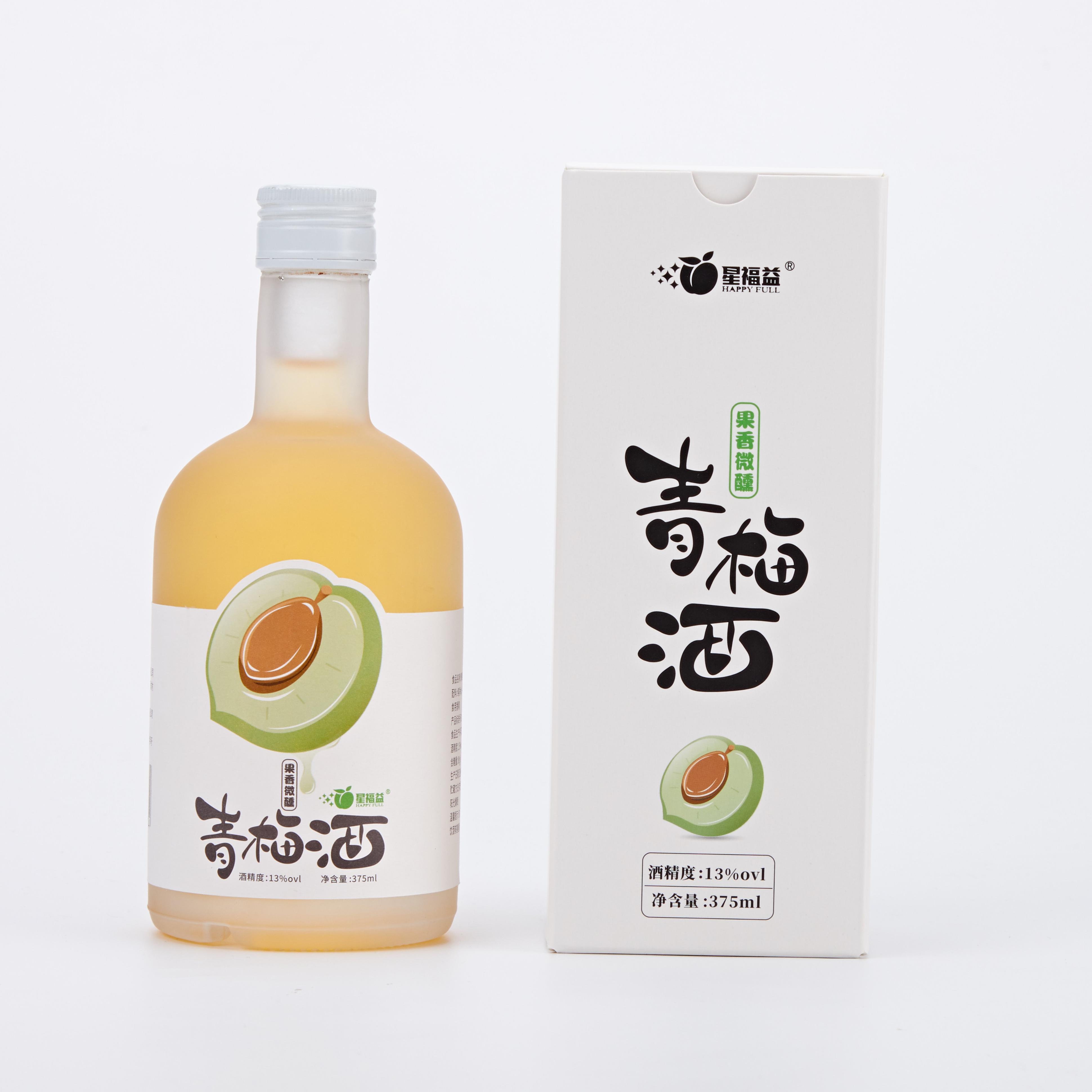 Happyfull Premium японский стиль низкая степень ABV 13% алкогольный ликер Саке Umeshu сливовое вино