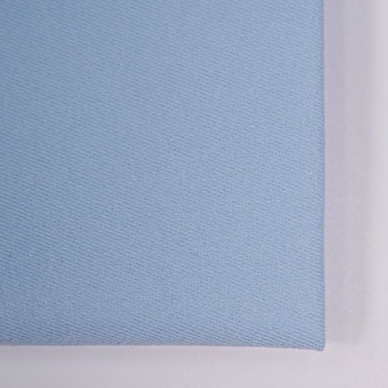 NEW FASHION LOW MOQ 68% cotton-like 32% T400 Plain Dyed Woven Fabric For coats