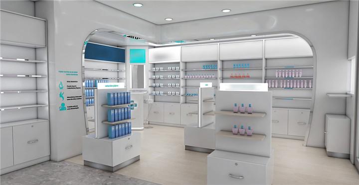 Аптечные витрины, магазин стеллажей для аптечки
