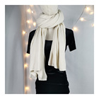 Wholesale Modern Long Polyester/Cotton Scarf Knitting Scarf Jersey Scarf