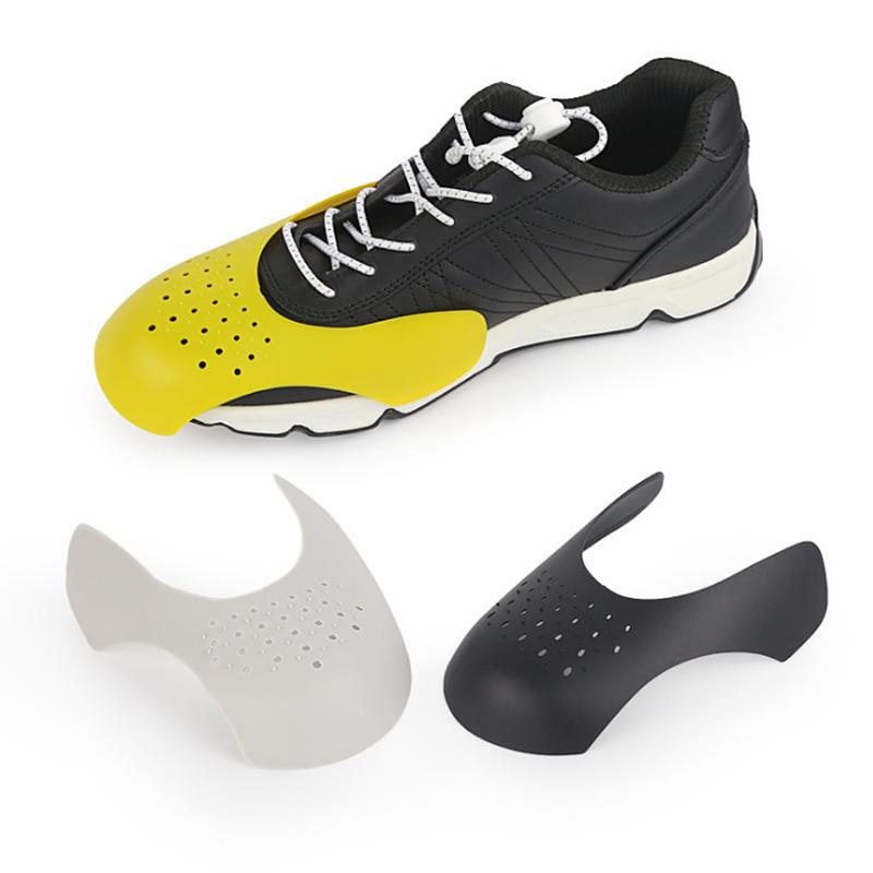 Artificial Leather Roller Skate Cap Aiyobucuo 1 Pair Toe Box Crease Preventers Shoe Toe Box Protector Against Creases Universal Crease Protectors for Roller Skates 10.5x7.5x5cm