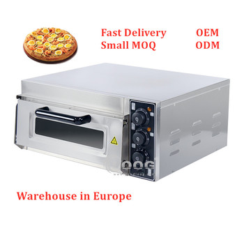 High Quality Restaurant Smokeless Electric Ovens Commercial Pizza Maker / Pizza Oven