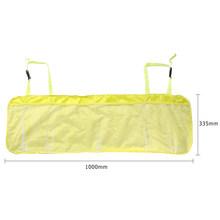 VODOOL Универсальный Автомобильный органайзер для багажника, регулируемая сумка для хранения на заднем сиденье, сетчатая ткань большой емкос...(Китай)