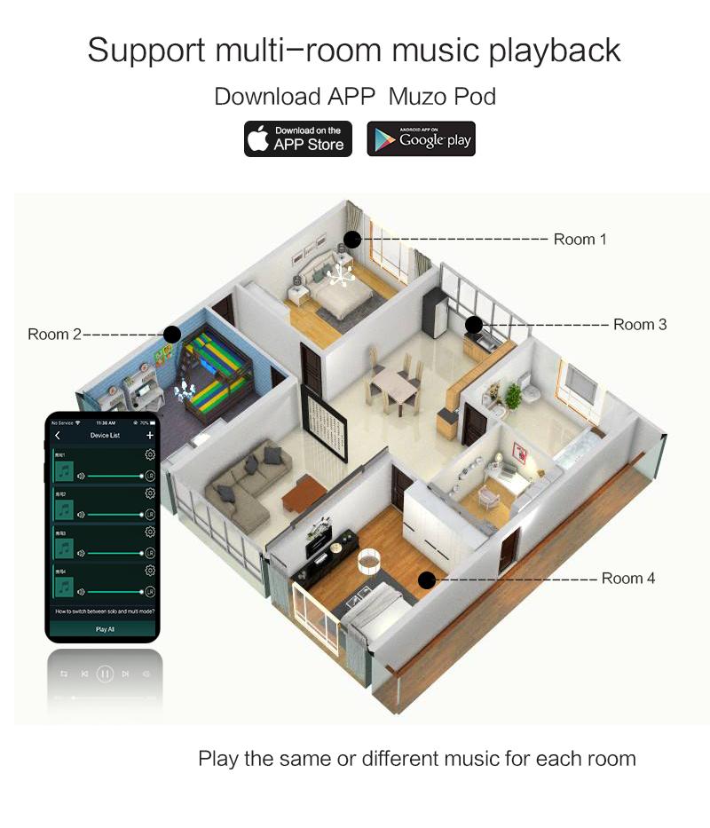 Высокая мощность wifi 2.4 G 5G USB оптический 2 * 100 Вт BT5.0 аудио усилитель плата с модулем аудиоприемника airplay2