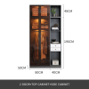 2 door+top cabinet+side cabinet