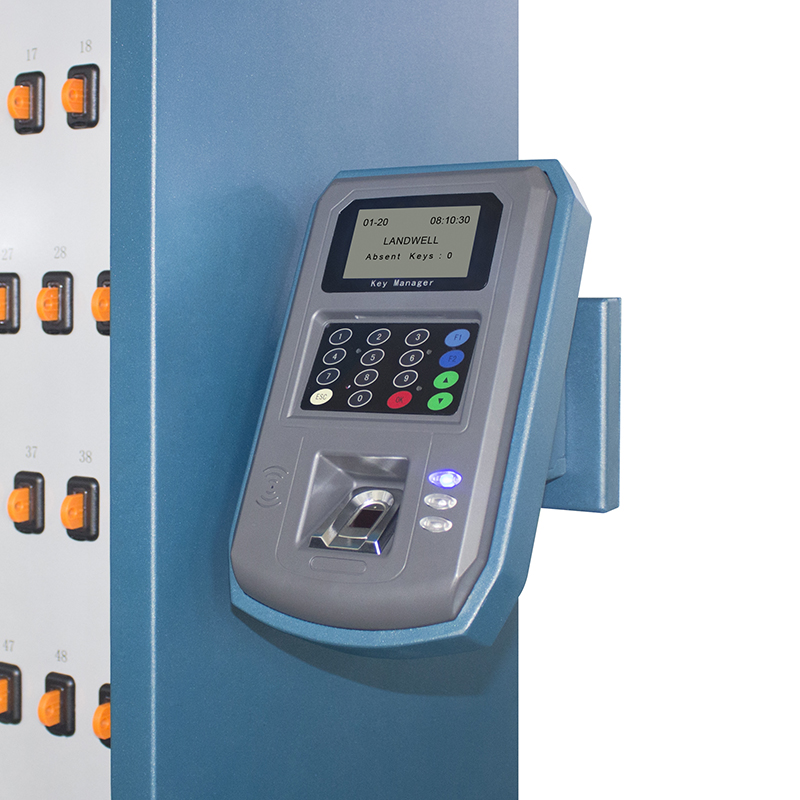 High Quality 100 Electronic Lock Combination Fingerprint + Card Intelligent Key Storage Cabinet with Software