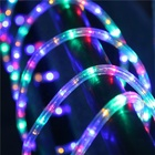 Holiday Led Rope Holiday Outdoor Decoration Halloween Rope Light Led Wedding Garden String Light PVC Green Rope Light Led