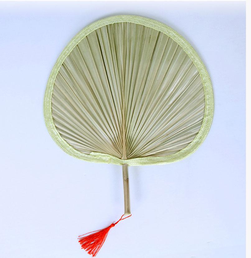 Вентилятор для охлаждения ручной работы, кулер из натурального бамбука в форме сердца «сделай сам», украшение для дома