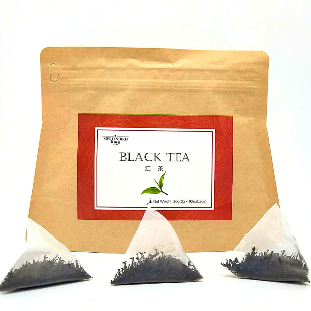 Private Label Benefit Slimming Tea Nature Slimming Black Tea Pyramid Teabags - 4uTea   4uTea.com