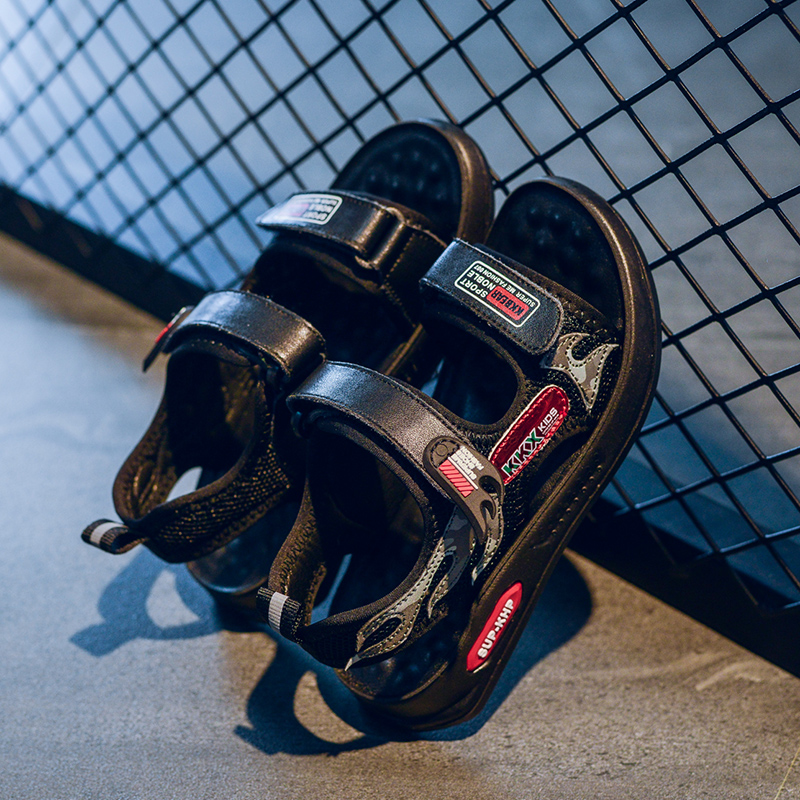 Модные легкие детские спортивные сандалии для мальчиков, удобные