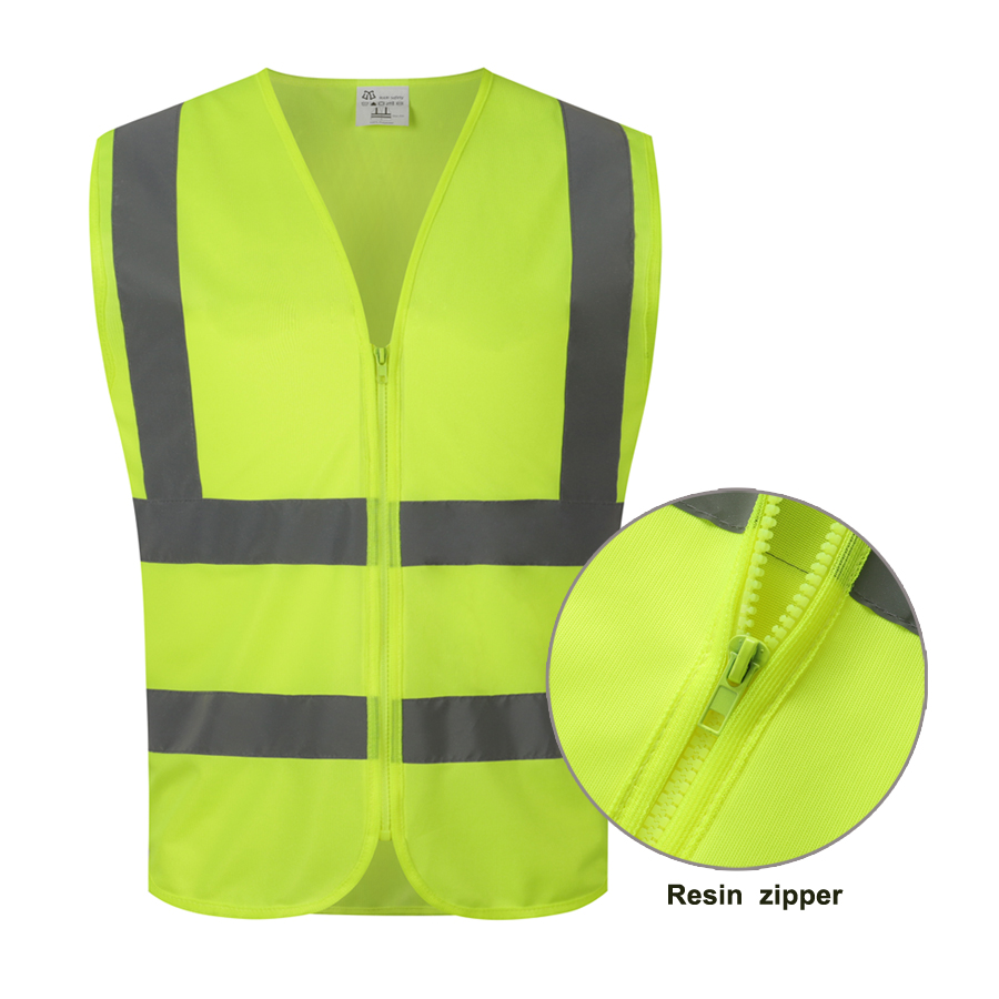 Visibility Driving Custom Vest Traffic Night Riding Sign Fluorescent Reflective Safety Vest - KingCare | KingCare.net