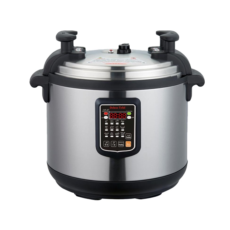 Factory direct selling 17lL intelligent double-gallbladder multi-function commercial electric pressure cooker