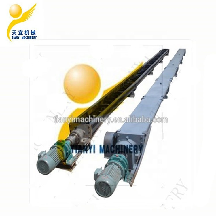 Chinese hot sale low cost carbon steel hopper flexible inclined cement helical conveyor screw auger conveyor for sale