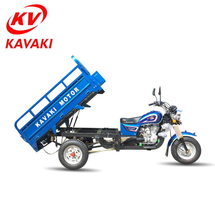 cheap   price  150cc engine   gasoline   cargo  large  tricycle  with  push   bar   for  sale