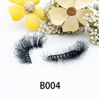 Eyelash 100% Mink Lashes 25mm Free Sample Custom Eyelash Box Private Label Mink Eyelash Wholesale Vendor 100% Fluffy 5d 3d 25mm Mink Lashes Mink Eyelash