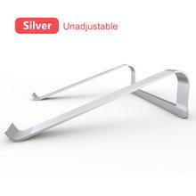Подставка для ноутбука из алюминиевого сплава, 11-17 дюймов, складная подставка для ноутбука Macbook Air Pro, lapнастольная Нескользящая подставка дл...(Китай)