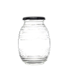 Bee Honey Glass Jar