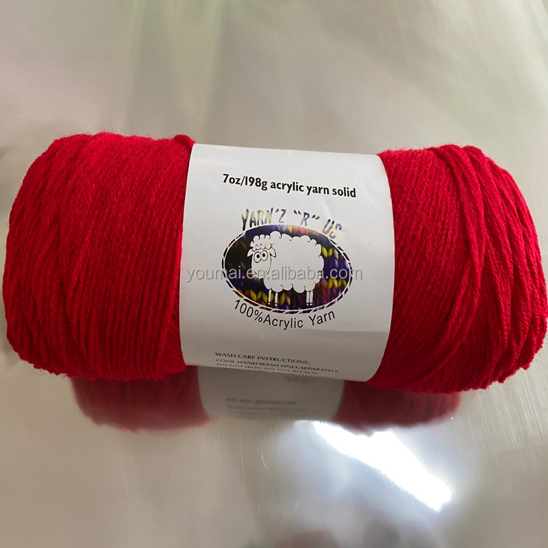 Multi Colors Cotton Thread Hand Knitting Yarn For Knitting Baby Sweater