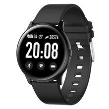 Для женщин и мужчин Смарт Электронные часы Роскошные кровяное давление цифровые часы модные калории спортивные наручные часы DND режим для ...(China)