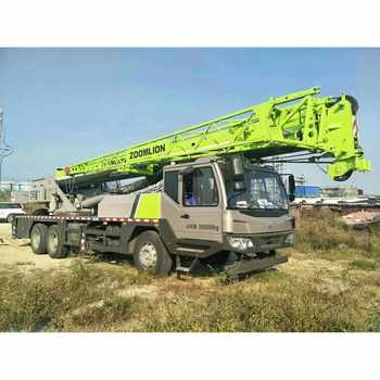 Truck Mounted Crane Boom 25 Ton Crane Truck For Sale