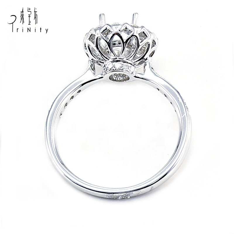 Very Fine Jewelry Single Diamond Design Wedding Engagement Ring In 18k White Gold For Woman Buy Engagement Wedding Ring Very Fine Jewelry Ring 18k Gold Ring Fine Jewelry Product On Alibaba Com