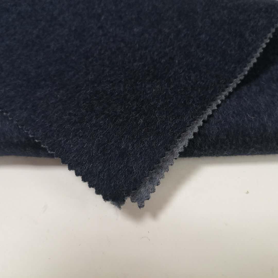 Высококачественная двухсторонняя двухцветная тканая шерстяная 100% шерстяная ткань