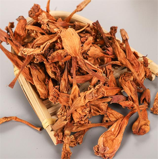 Ling xiao hua Chinese trumpet creeper flower herbal tea campsis grandiflora - 4uTea   4uTea.com