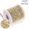 Crystal AB-Gold base