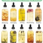 Massage Oil Packaging Organic Natural Aromatherapy Skin Whitening Body Massage Oil Hair Oil Rose Petals Face Oil