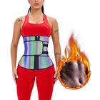 Women Plus Size S-6xl Women Waist Trimmer Trainer Wholesale Women Double Belt Plus Size Cincher Slimming Tummy Waist Trimmer Fitness Weight Loss Sweat Corset Waist Trainer