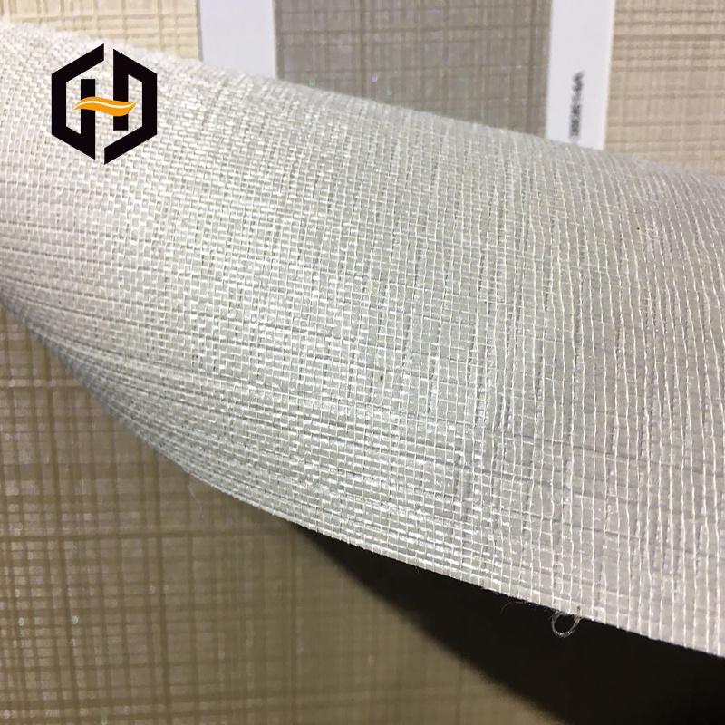Оптовая продажа, китайский поставщик, Женская подложка из 21/300 ПВХ, полиэфирная серая ткань для настенной ткани