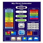 School Students Classroom Number Of The Day weather Space-Saver Pocket Chart Children's Felt Calendar Activity Board quiet book