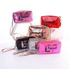 Bag Best Price Private Label Mini Lip Pattern Glitter Make Up Makeup Bag Cosmetic Travel