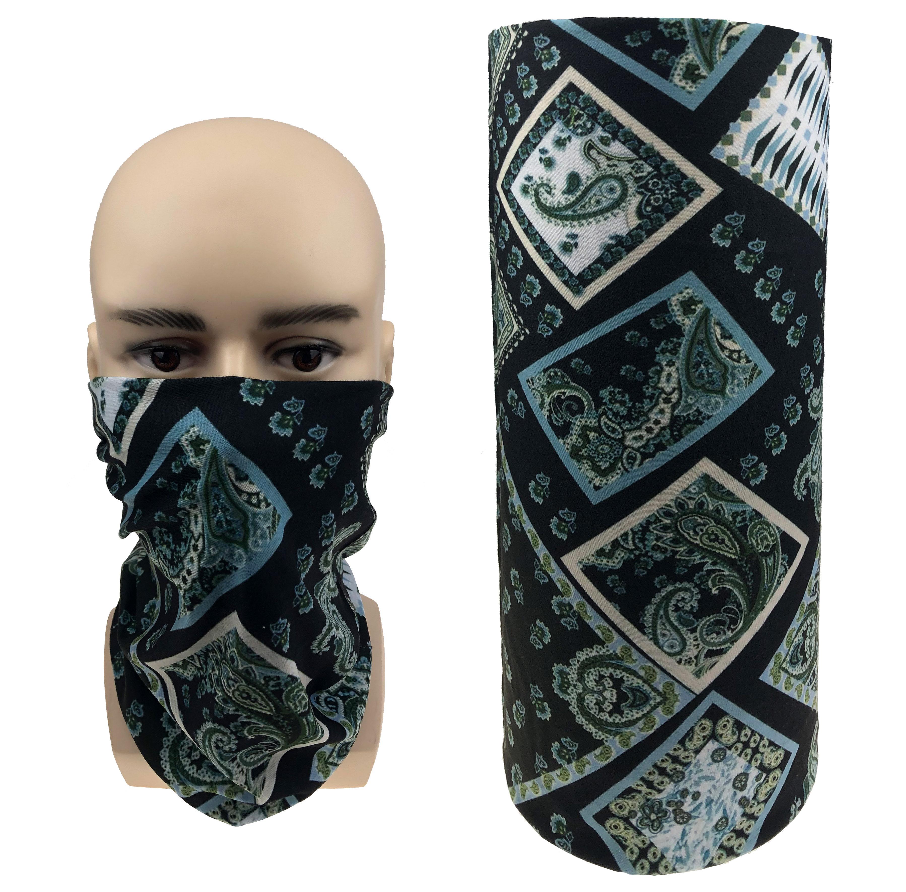 Multi use Biker Balaclava Bandana Cycling Neck Warm Tube Scarf Snood Face Cover